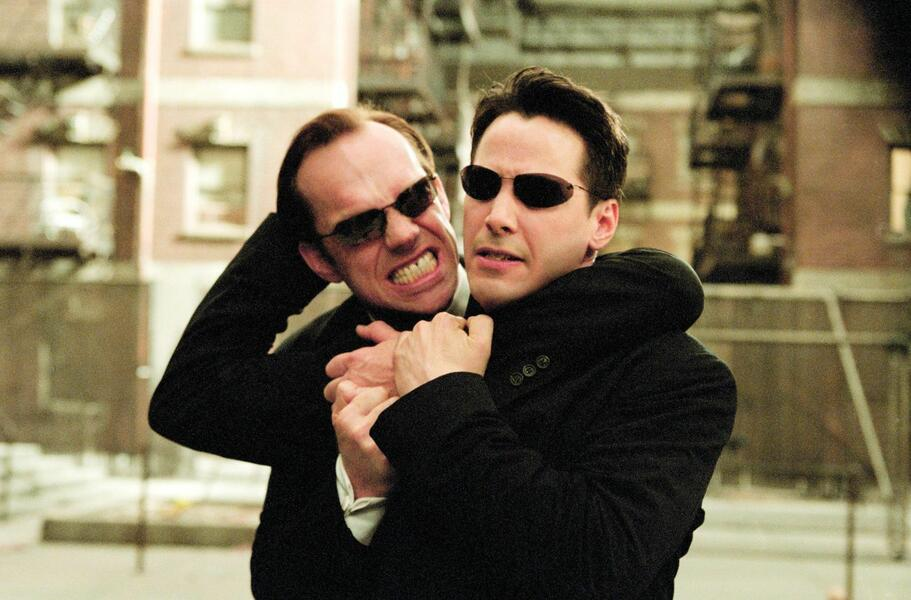 Keanu Reeves in der Matrix-Trilogie
