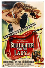 Bullfighter and the Lady - Poster