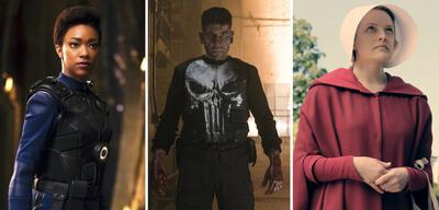 Sonequa Martin-Green, Jon Bernthal und Elisabeth Moss starteten 2017 als Serienstars durch