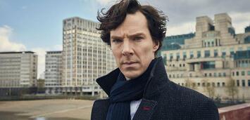 Bild zu:  Sherlock mitBenedict Cumberbatch