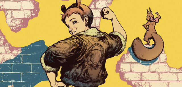 Squirrel Girl, eine der New Warriors
