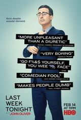 Last Week Tonight with John Oliver - Staffel 3 - Poster