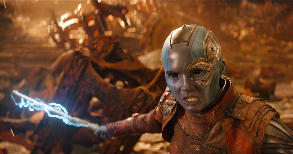 Avengers 3: Infinity War mit Karen Gillan
