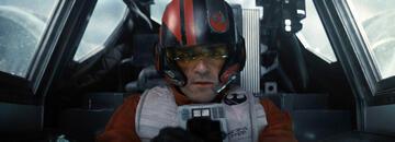 Oscar Isaac als Poe in Star Wars 7: Das Erwachen der Macht