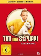 Tim und Struppi und die Blauen Orangen - Poster