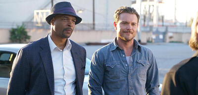 Damon Wayans und Clayne Crawford in Lethal Weapon