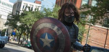 Sebastian Stan in Captain America 2