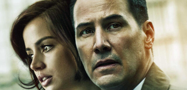 Ana de Armas und Keanu Reeves im Thriller Exposed