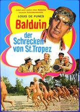 Balduin, der Schrecken von St. Tropez - Poster