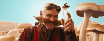 Jim Carrey als Dr. Robotnik im Sonic-Film