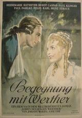 Begegnung mit Werther - Poster