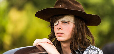 The walking dead carl edit