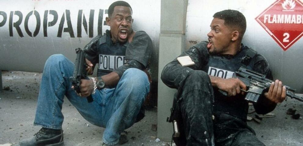 Martin Lawrence und Will Smith in Bad Boys II