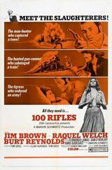 100 Gewehre - Poster