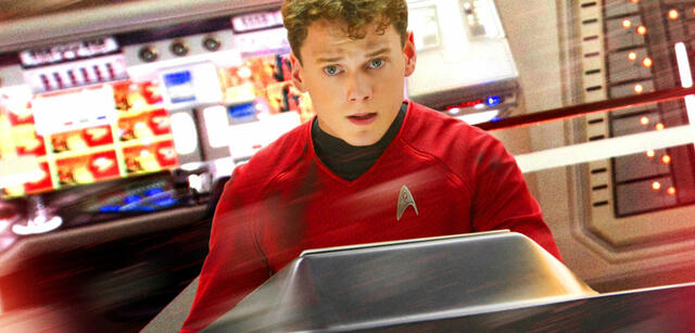 Anton Yelchin in Star Trek