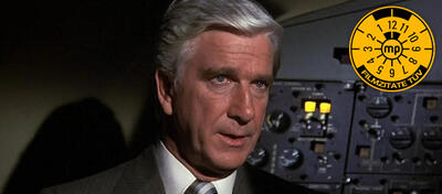 Leslie Nielsen in Airplane!