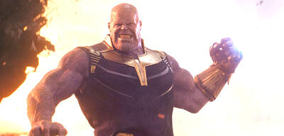 Josh Brolin als Thanos in Avengers 3: Infinity War
