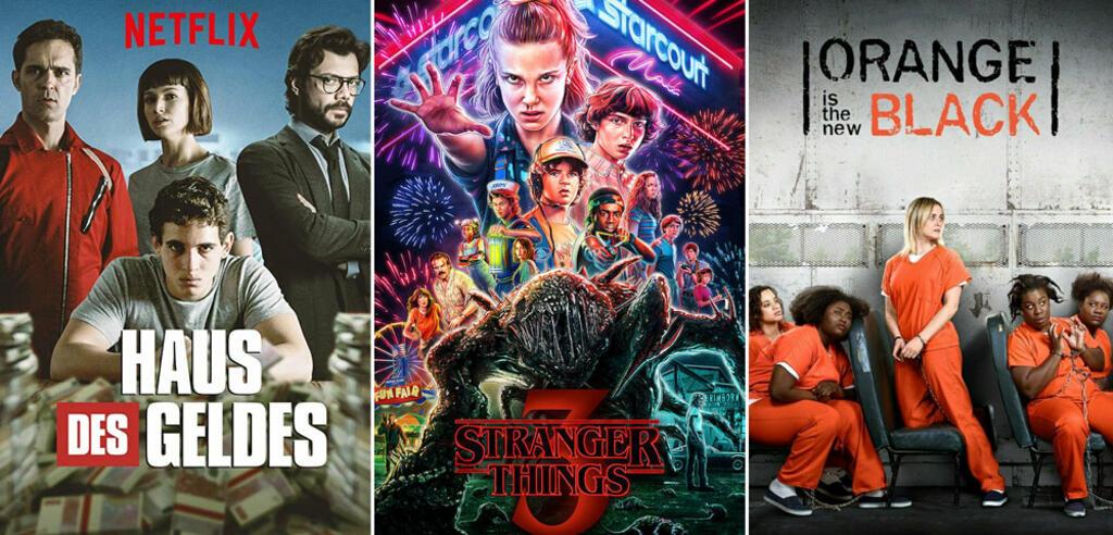 Serien und Staffeln im Juli 2019