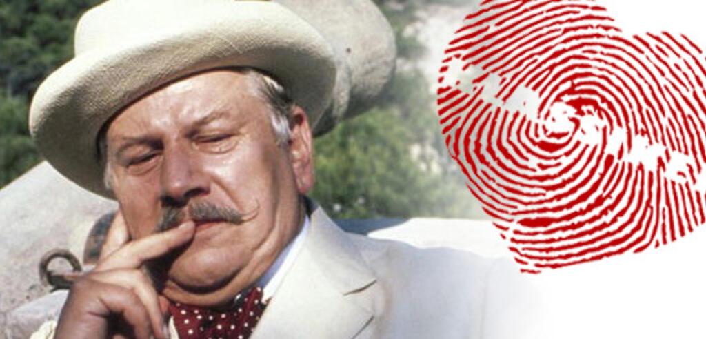 Meisterdetektiv Hercule Poirot grübelt