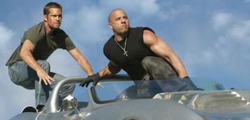 Bild zu:  Paull Walker und Vin Diesel in Fast and Furious Five.