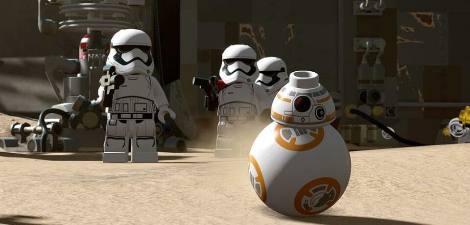 BB-8 im Lego-Look