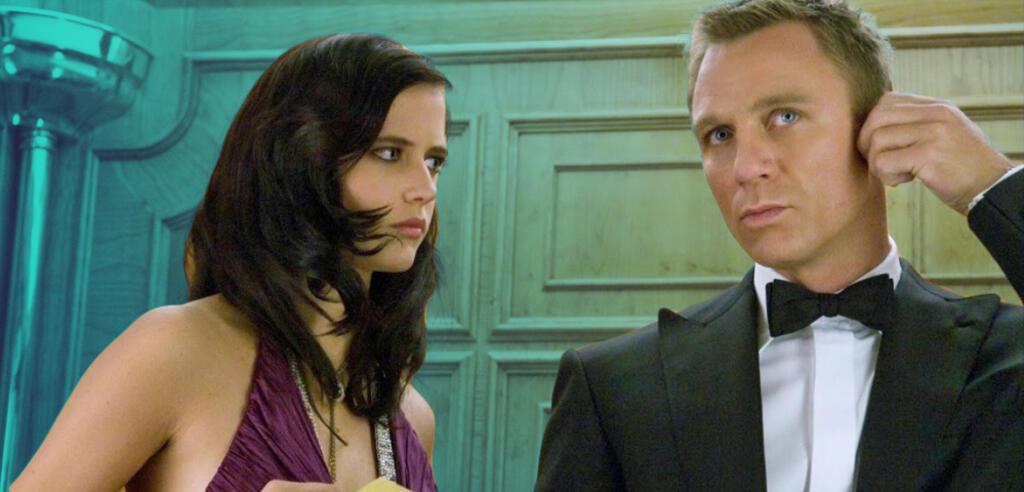 Vesper Lynd und James Bond