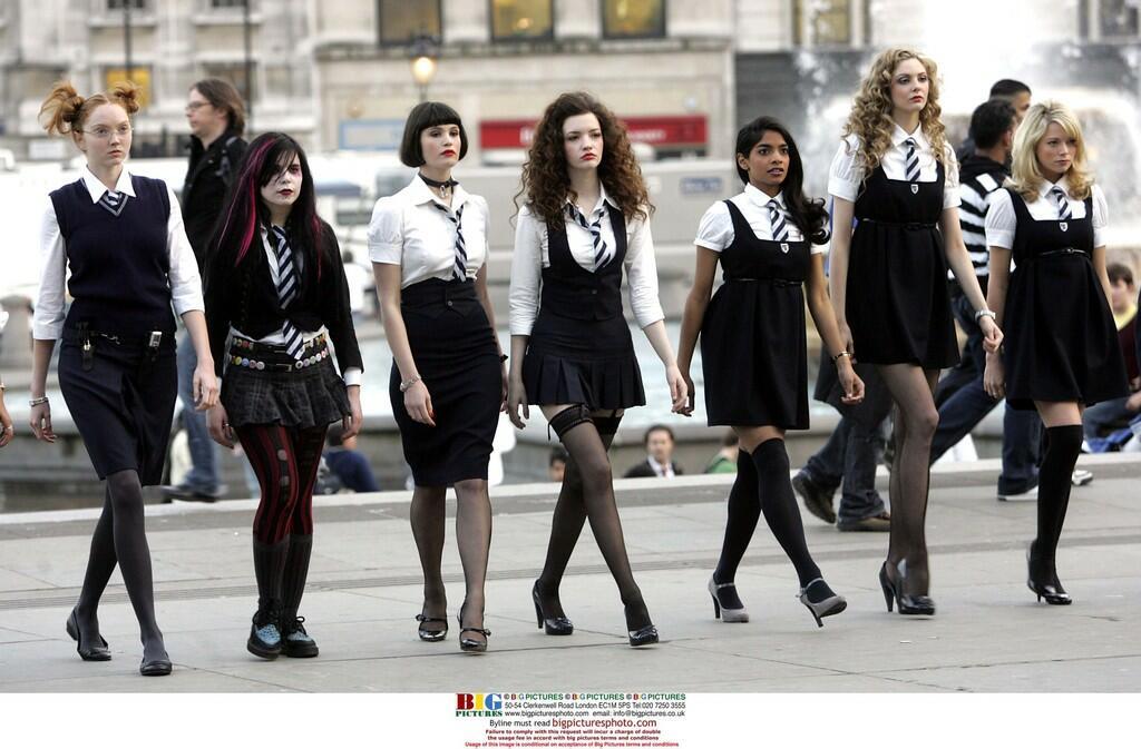 Die Girls Von St Trinian
