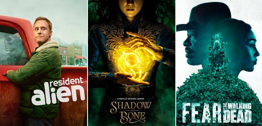 Serien und Staffeln im April 2021