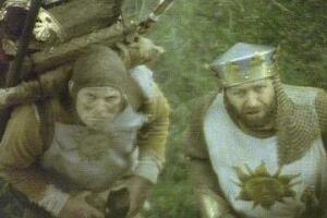 Die Ritter der Kokosnuß mit Terry Gilliam und Graham Chapman