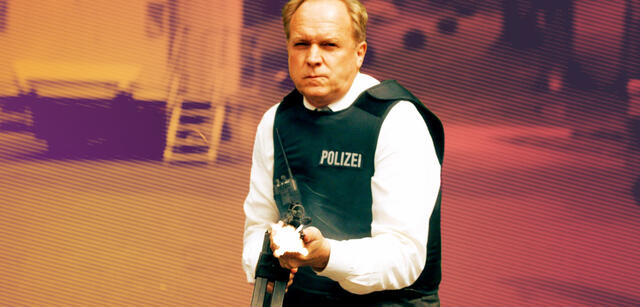 Ulrich Tukur in Tatort:Im Schmerz geboren
