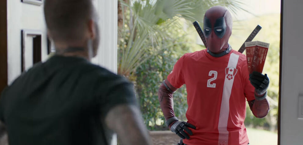 Deadpool 2: With Apologies to David Beckham
