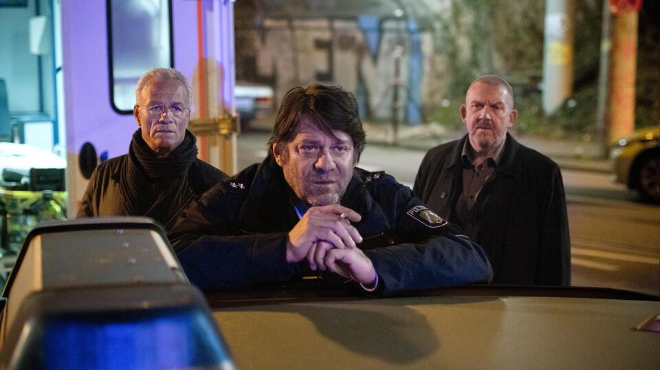 Tatort: Weiter, immer weiter mit Dietmar Bär, Klaus J. Behrendt und Roeland Wiesnekker
