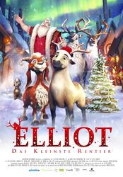 Elliot, das kleinste Rentier  Poster
