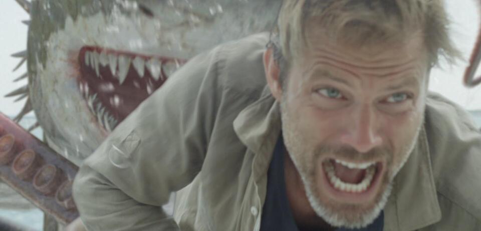 Hi. Szene ausSharktopus vs. Whalewolf