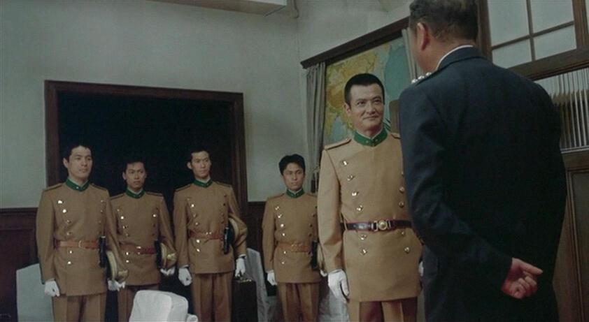 Mishima mit Masayuki Shionoya, Ken Ogata und Hiroshi Mikami