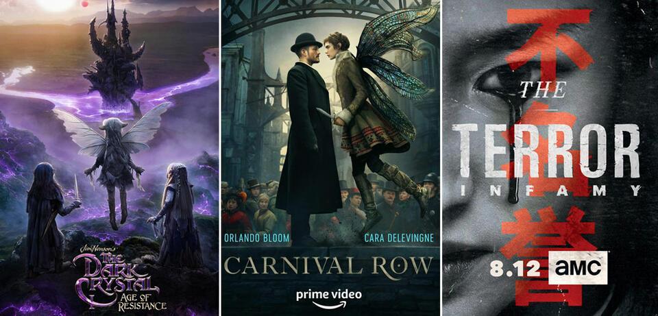 Serien und Staffeln im August 2019