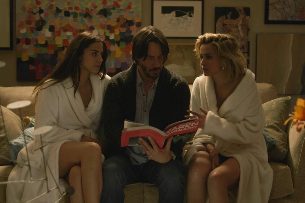 Knock Knock mit Keanu Reeves, Ana de Armas und Lorenza Izzo