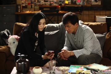 Fan Bingbing und Jackie Chan in Skiptrace