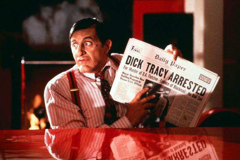 Dick Tracy mit Al Pacino