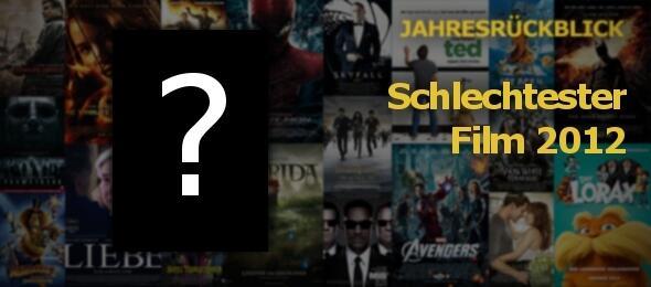 Der Schlechteste Film 2012