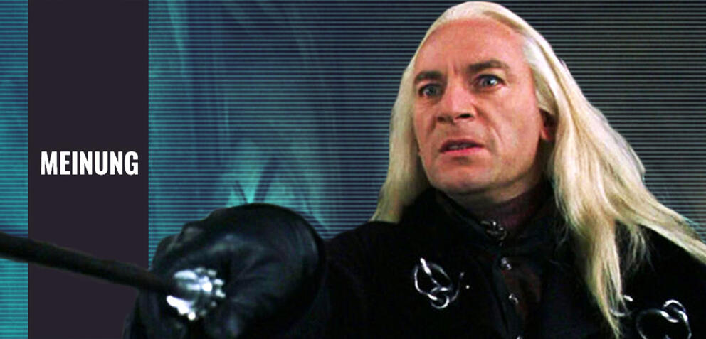 Harry Potter 2 mit Jason Isaacs als Lucius Malfoy