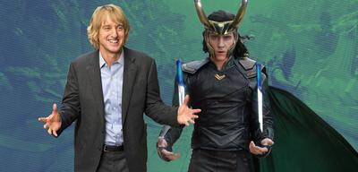 Owen Wilson und Tom Hidleston als Loki