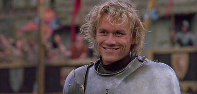 Heath Ledger in Ritter aus Leidenschaft