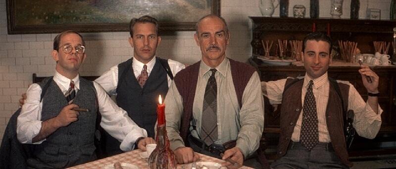 The Untouchables - Die Unbestechlichen mit Sean Connery und Kevin Costner