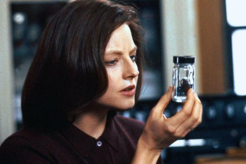 Das Schweigen der Lämmer mit Jodie Foster