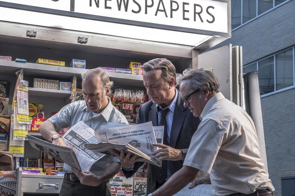 Die Verlegerin mit Tom Hanks und Bob Odenkirk