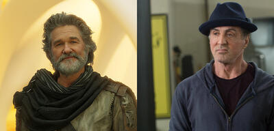 Kurt Russell und Sylvester Stallone