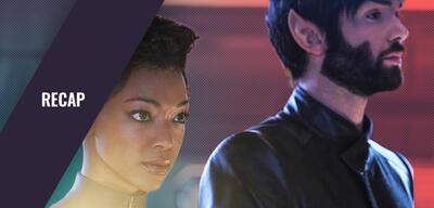Star Trek: Discovery - Burnham und Spock
