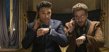 Bild zu:  James Franco und Seth Rogen (v.l.) planen ihr Attentat auf Kim Jong-Un