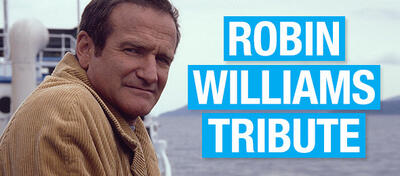 Tribut für Robin Williams